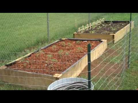 Homemade Raised Garden Beds