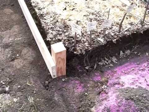 Building a Raised Garden Bed pt. I