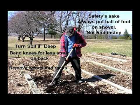 Vegetable Garden Soil Preparation