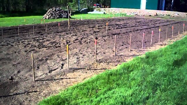 #02 Heirloom Organic Vegetable Garden: Preparing to layout the garden