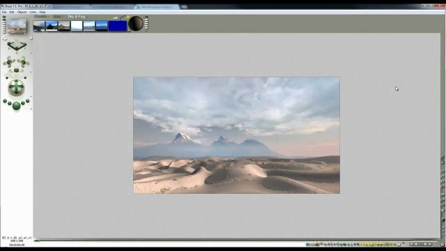 Bryce desert landscape – part 2 – a 15 minute tutorial in two parts by David Brinnen