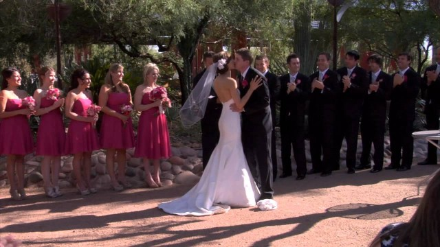Paula and Shawn's Wedding at the Desert Botanical Gardens