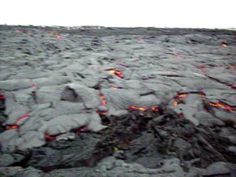 Lava after Desert Gardens on the flats.