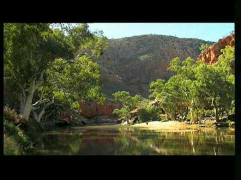 Desert Landscape near Alice Springs Australia
