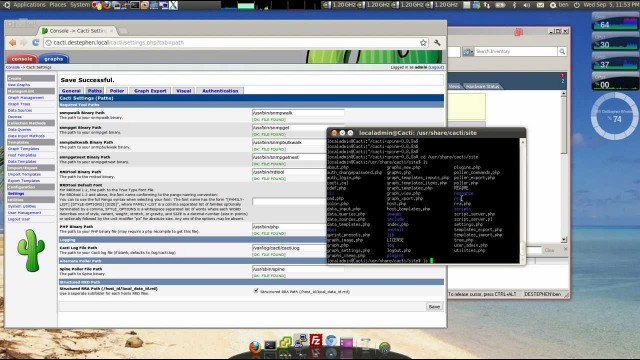 Cacti Installation on Ubuntu 12.04 – Part 2