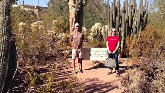 Desert Botanical Gardens Phoenix Arizona