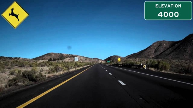 I-40 East (AZ), Blazing Across The Arizona Desert, Mile 73 To Mile 97