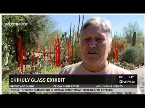 Chihuly returns to Desert Botanical Garden with new exhibit