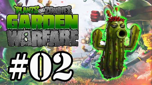 Plants vs Zombies:Garden Warfare #02 – Modo Horda – Cactus