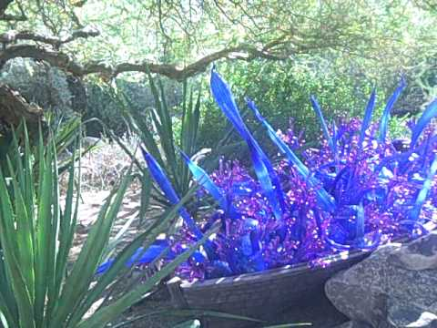 Dale Chihuly: Glass in The Desert: Blue and Purple Boat