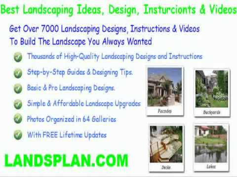 backyard landscaping ideas pictures free