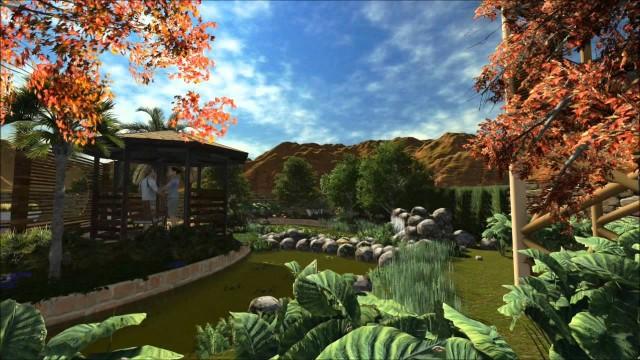 Desert Villa – landscape design