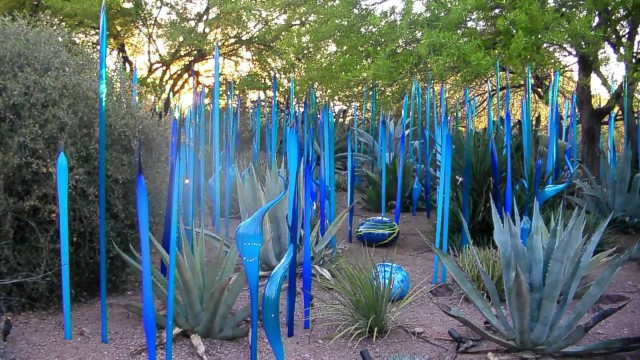 Dale Chihuly Glass Art – Desert Botanical Garden -Arizona, U.S.A.