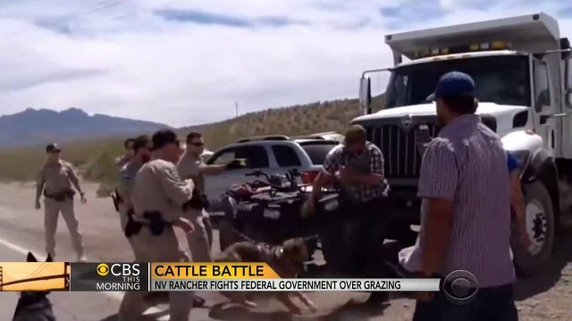Cliven Bundy Fights BLM Land Grab By Harry Reid & China Solar Co.