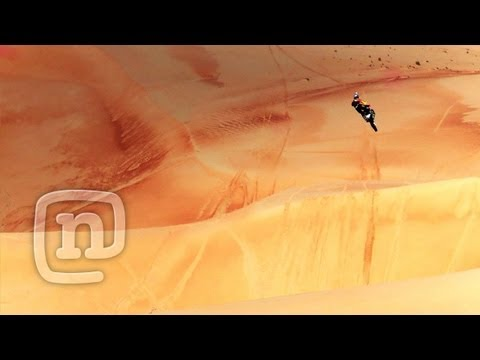 FMX Pro Ronnie Renner Freeriding Abu Dhabi Borderlands: Upside Down & Inside Out, Ep. 2
