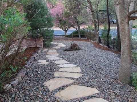 River Rock Landscaping Designs