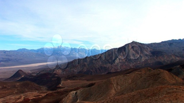 Images Of A Desert Landscape. Stock Footage