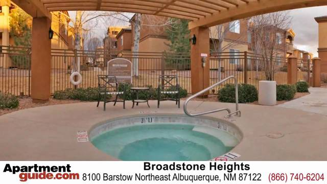 Albuquerque apartments Broadstone Heights apartments for rent in New Mexico