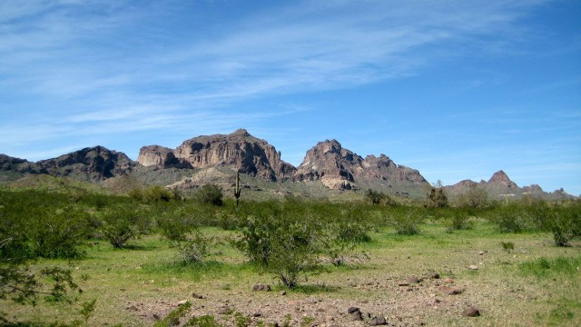 Saddle Mountain, Sonoran Desert, Arizona RV Camping Picture Tour