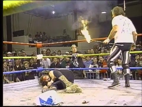 ECW Cactus Jack vs Terry Funk (Flaming Iron!!!)