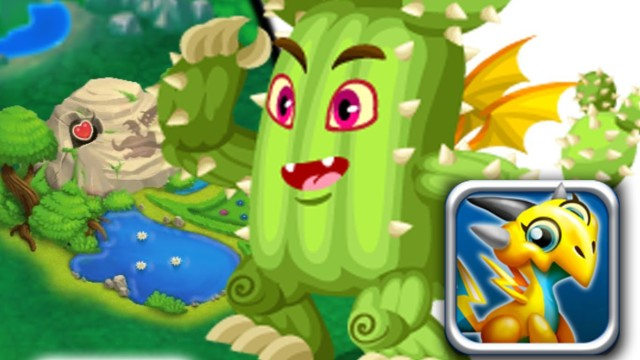 How to breed Cactus Dragon 100% Real! Dragon City Mobile! wbangcaHD!