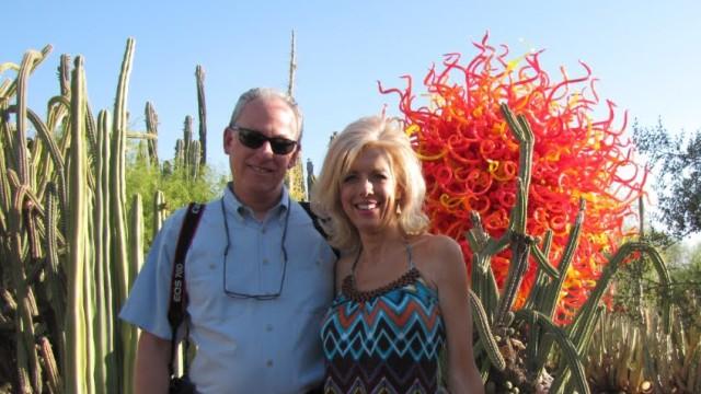 Vlog:  Chihuly at Phoenix Desert Botanical Gardens
