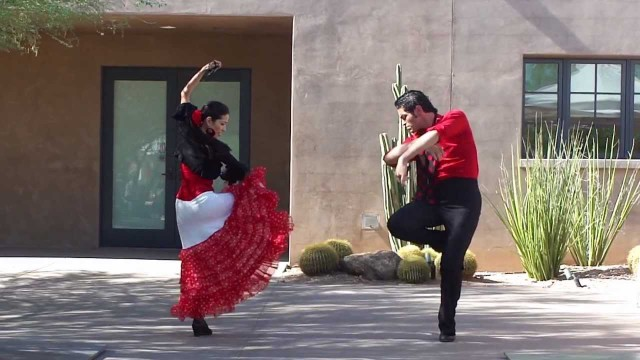 Flamenco Dance Phoenix, Chili and Chocolate fest at Desert Botanical Gardens Sevillanas Arizona