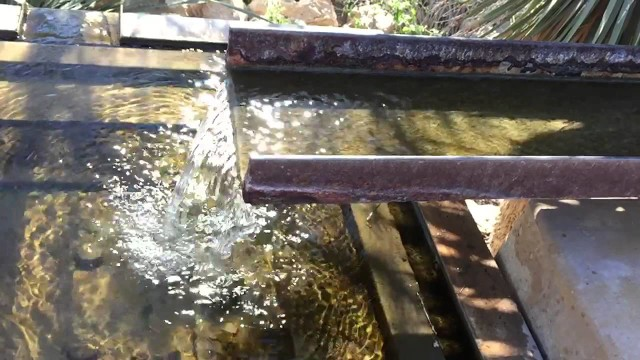 Waterfall at Phoenix Desert Botanical Gardens