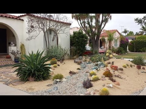 Desert Landscape Design Ideas for creating a low-water, low-maintenance garden
