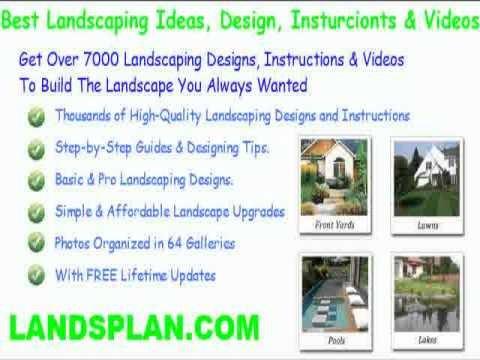 free desert landscape design plans