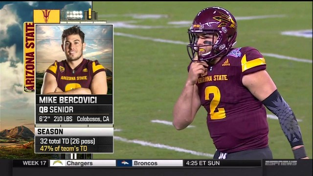 NCAAF 2016 01 03 Cactus Bowl West Virginia vs Arizona State 720p60