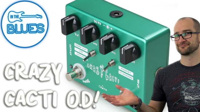 Caline Crazy Cacti Overdrive Pedal