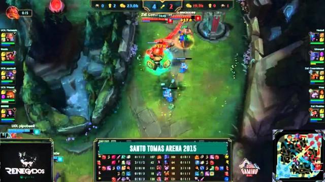 FINAL DE LA COPA SANTO TOMAS 2015 MAD MONKEYS VS ZERO SCAPE