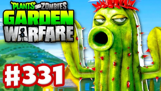Plants vs. Zombies: Garden Warfare – Gameplay Walkthrough Part 331 – Cactus Revisited! (PC)