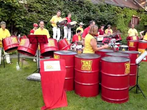 BVG-party in Berlin Botanical Garden – Tin Pan Alley Steelband