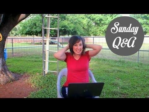 Sunday Q&A: Arizona Gardening, Eyesight, & Kombucha.