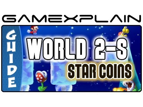 New Super Mario Bros. U – Layer Cake Desert-Piranha Plants on Ice Star Coins Guide & Walkthrough