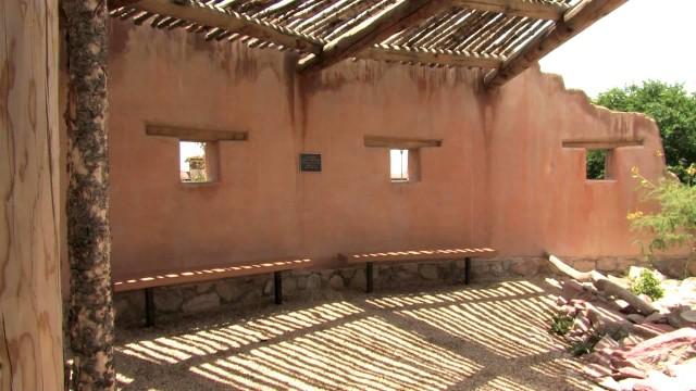 El Fortin and Upland Gardens, UTEP Centennial Museum Chihuahuan Desert Garden