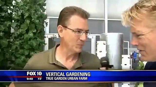 Future Growing® vertical aeroponic Tower Garden® farm at True Garden, Mesa, Arizona