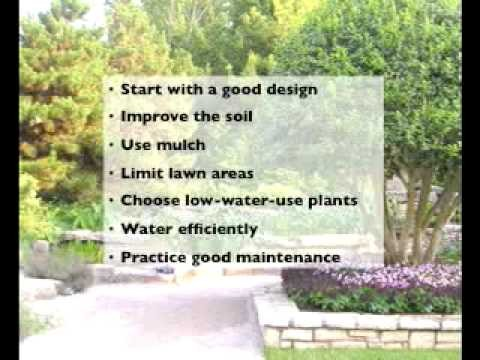 Water Efficient Landscaping Methods (Xeriscape) at TCU