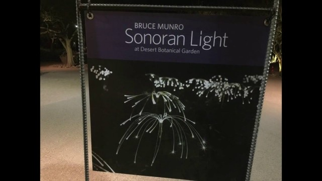 2016 Sonoran Light Display – Desert Botanical Gardens