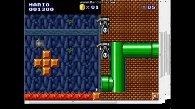 Super Mario Flash – Desert Gardens & Cave of Death