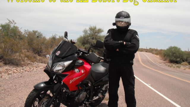 Arizona Desert Dog Motovlog Channel Trailer 2015 Motovlogger