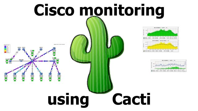 Cisco monitoring using Cacti
