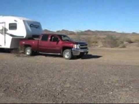 Arriving for Winter RV Camping in the Arizona Desert