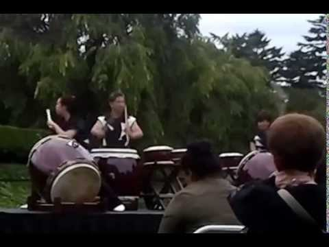 NYBG Taiko Drumming 2014 – New York Botanical Garden