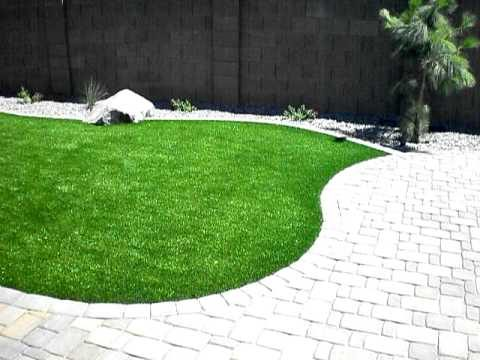 The Transformation Is Complete Of An Arizona Backyard Landscape!