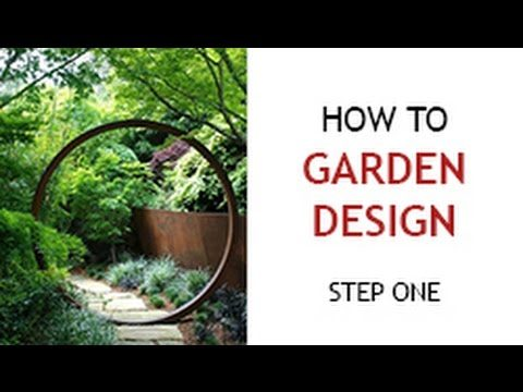 Step 1 – How to Design a Backyard Garden