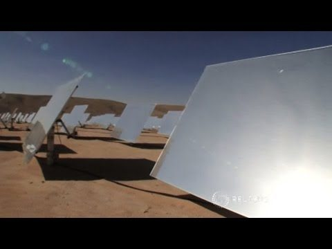 Saharan Solar Project to Power Europe