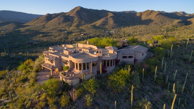 Mountaintop Mansion For Sale in Cave Creek Arizona [54-Acres]